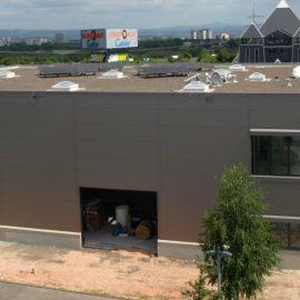 Neubau eines Firmengebäudes in Mainz