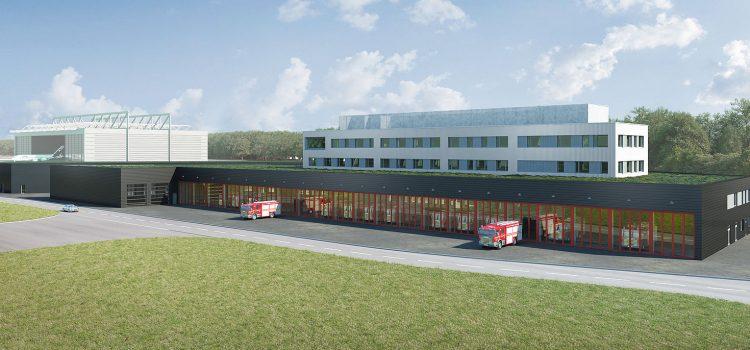 Neubau der Feuerwache 3 bei Fraport
